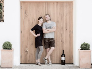 Weber Andreas mit Frau
