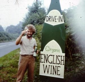 Roy öffnet Sedlescombe 1984 für die ersten Besucher - © Sedlescombe Organic Vineyard